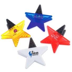 Star Magnetic Fridge Office Clip