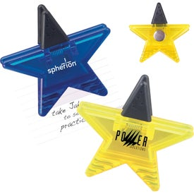 Customized Star Memo Clip