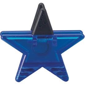 Personalized Star Memo Clip