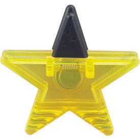 Promotional Star Memo Clip