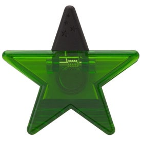 Advertising Star Memo Holder Magnet