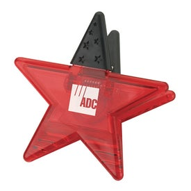 Star Memo Holder Magnet for your School