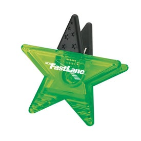 Star Memo Holder Magnet for Advertising