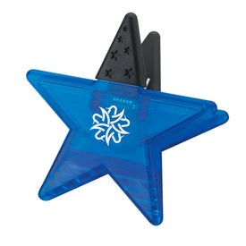 Star Memo Holder Magnet for Your Company