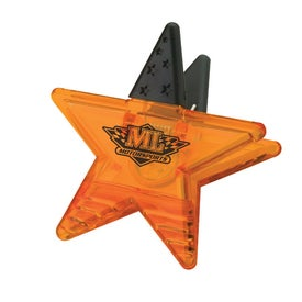 Star Memo Holder Magnet Printed with Your Logo