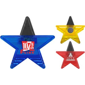Star Rubber Grip Clip for Your Organization