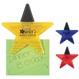Personalized Star Shape Clip