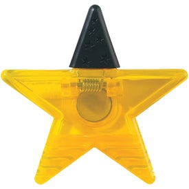 Star Shape Clip for Marketing