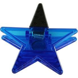 Company Star Shape Clip