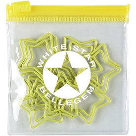 Star Yellow Clipsters in a Pouch