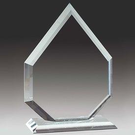 Imprinted Starfire Arrowhead Award