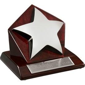 Stella IV Star on Pentagon Base Award