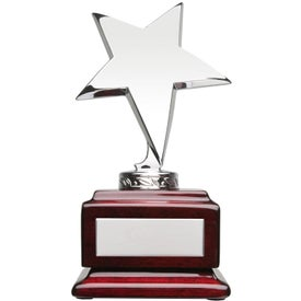 Stella I Star on Square Wood Award for Your Church