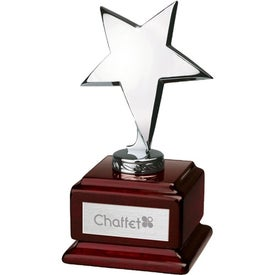 Stella I Star on Square Wood Award