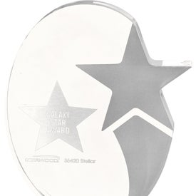 Stellar Award Imprinted with Your Logo