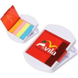 Company Sticky Flag Power Clip