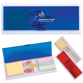 Printed Sticky Note and Paperclip Ruler