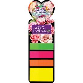 Sticky Note Bookmark (Heart)