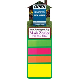 Sticky Note Bookmark (House)