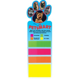 Sticky Note Bookmark (Paw)