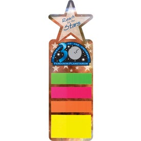 Promotional Sticky Note Bookmark