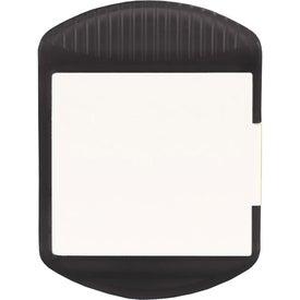 Logo Sticky Note Magnetic Clip