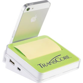 Stickz USB Hub and Phone Holder with Your Slogan