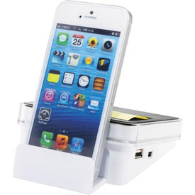 Stickz USB Hub and Phone Holder with Your Logo