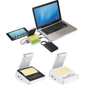 Stickz USB Hub and Phone Holder for Your Organization
