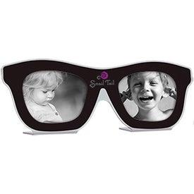 Monogrammed Sunglasses Photo Frame