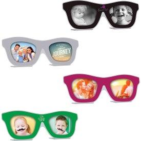 Logo Sunglasses Photo Frame