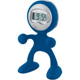 Sweda Man Clock with Your Logo