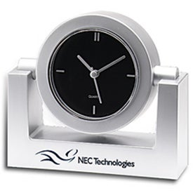 Swivel Clocks Imprinted with Your Logo