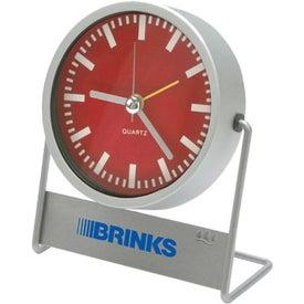 Personalized Swivel Desk Clock