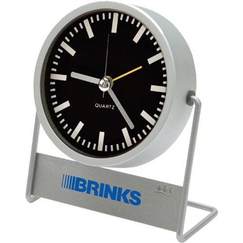 Metal Desk Clock