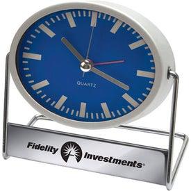 Swivel Desk Clock (Oval)