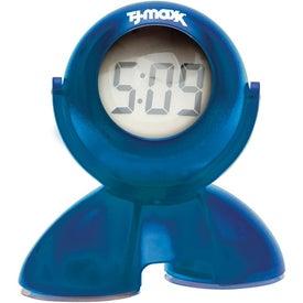 Swivel Head Bubble Clock for Your Church