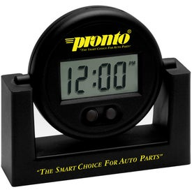 Swivels Clock for Promotion