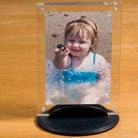 Imprinted Taconic Acrylic Photo Frame
