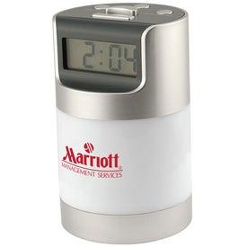 Talking LCD Alarm Clock With 360 Degree Desk Light