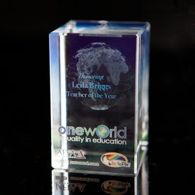 Branded Tall Cube Award