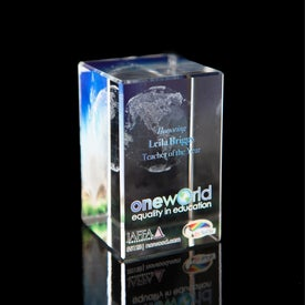 Company Tall Cube Award