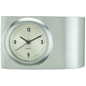 Promotional Tania Clock Pen Stand