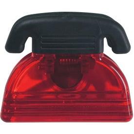 Branded Telephone Shape Clip