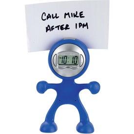 Advertising The Flex Man Digital Clock