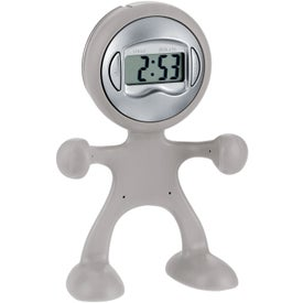 Personalized The Flex Man Digital Clock