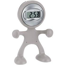 Personalized The Flex Man Digital Clock