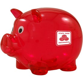 Plastic Piggy for Your Company