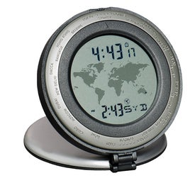 Personalized The Traveler World Time Travel Clock