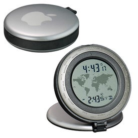 The Traveler World Time Travel Clock